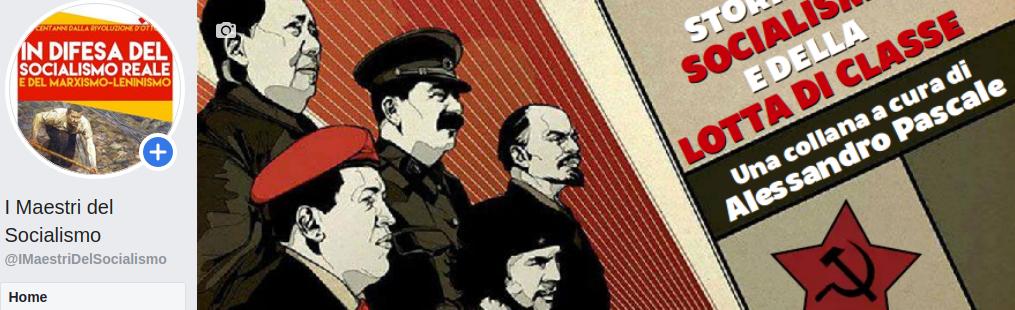 I MAESTRI DEL SOCIALISMO: UNA PICCOLA CASAMATTA
